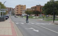 Alfaro contará con tres pasos más de cebra elevados en cruces muy transitados