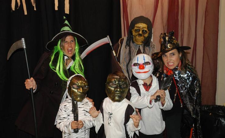 La Casa de los curas y el albergue de Calahorra celebran Halloween