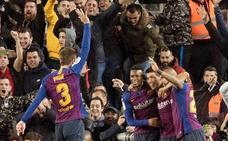 El Barça agiganta la crisis blanca con una humillante goleada