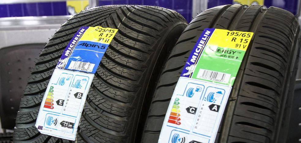 Neumáticos para consumir menos
