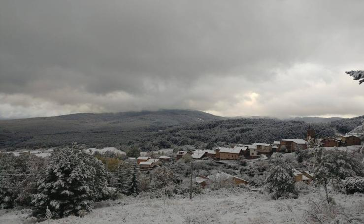 La nieve aparece en La Rioja