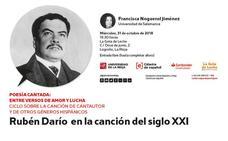 La poesía cantada de Rubén Darío, en la Gota de Leche
