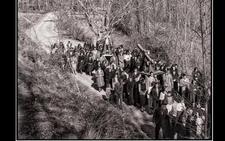 La Retina: procesión de Viernes Santo en Valgañón