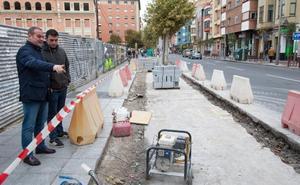 Quince paradas mejoran la accesibilidad y movilidad de autobuses y peatones