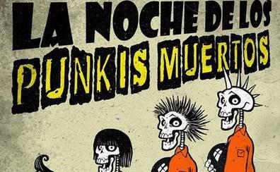 Fiesta de 'punkis muertos' en el Biribay