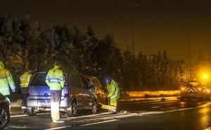 Un accidente con tres vehículos en la N-111 deja un fallecido y dos heridos