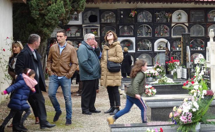 Visita al cementerio en Santo Domingo