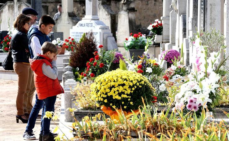 Visitas al cementerio