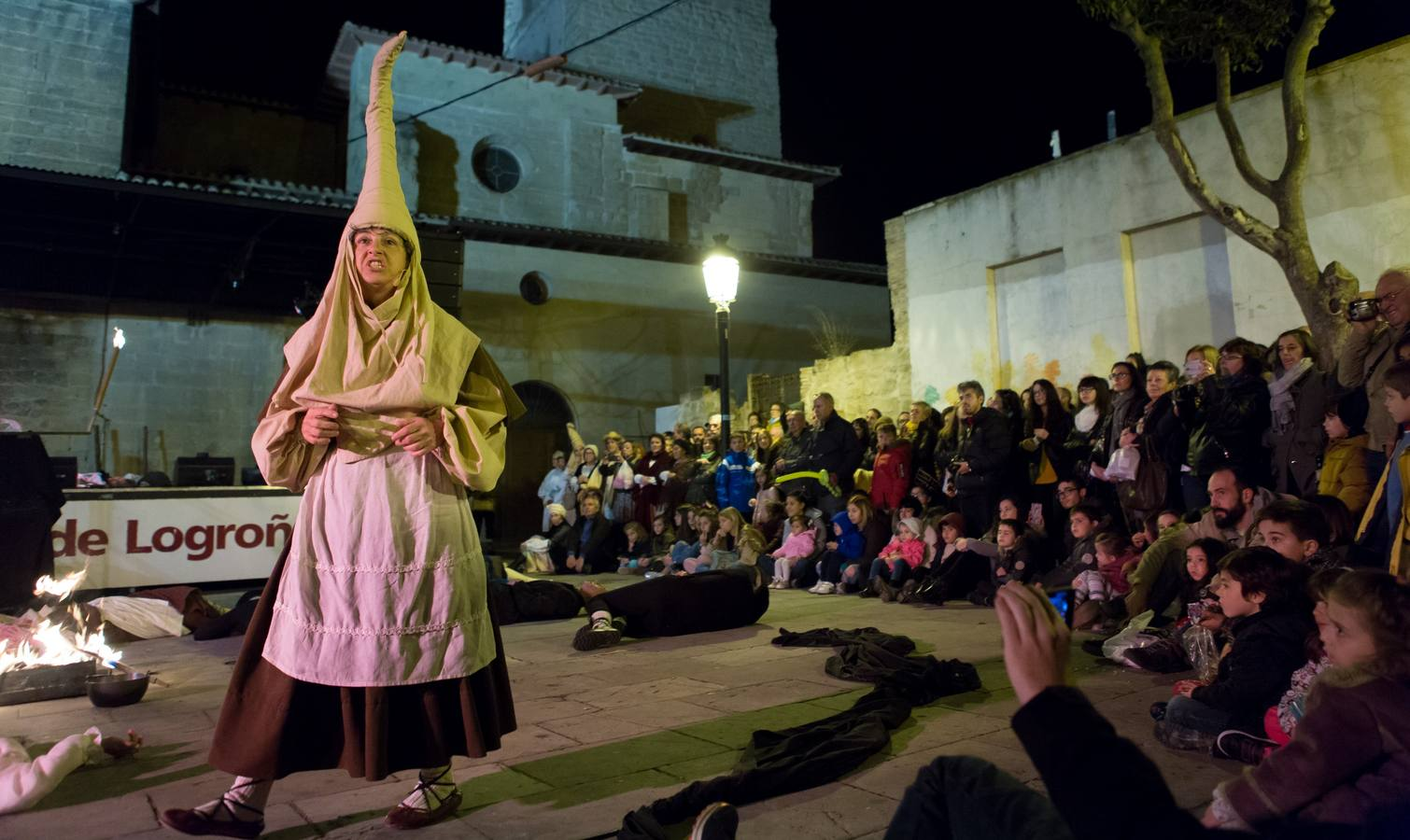 Voluntarios de Logroño recrean este sábado el Auto de Fe de 1610