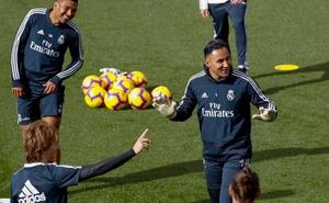 Solari reclama «ayuda» al Bernabéu