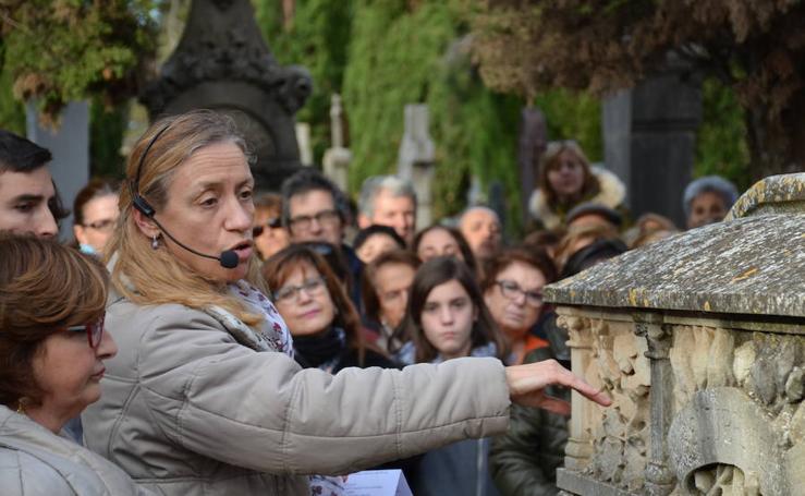 Visita guiada al cementerio de Calahorra