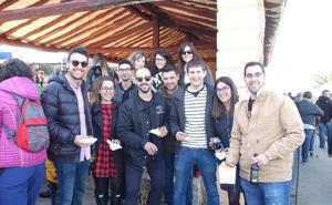 Productos artesanos, gastronomía y buen ambiente en Tudelilla