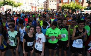 Más de 500 corredores, ayer, en las carreras de Autol