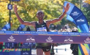 Desisa y Keitany ganan en la Maratón de Nueva York