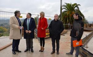 La reforma de la plaza de la Verdura concluirá a finales de este mes