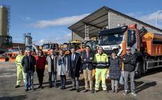El Plan de Vialidad Invernal de La Rioja incluye 100 personas y 26 vehículos