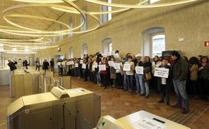 PROTESTA POR LA REFORMA DE LA LEY DEL PODER JUDICIAL