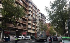Las calles de Logroño empiezan a lucir navideñas