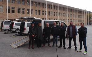 Logroño cuenta con seis taxis adaptados, uno de ellos para la primera mujer con licencia