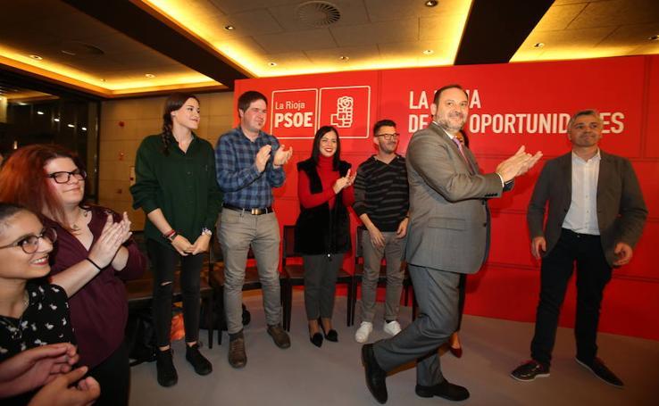 Visita a La Rioja del ministro de Fomento José Luis Ábalos