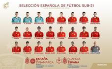 Oyarzábal, Mayoral y Carlos Soler estarán en Las Gaunas con los sub-21