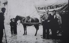 La Retina: Repartiendo café a caballo por Logroño
