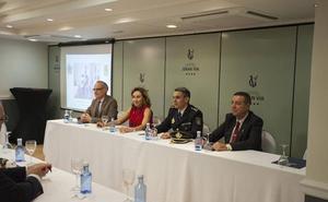 María Martín destaca la «impagable labor» de la Policía Nacional en La Rioja