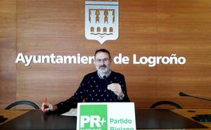 Antoñanzas acredita que «los logroñeses pagan un 7,5% más por el IBI desde que Gamarra es alcaldesa»