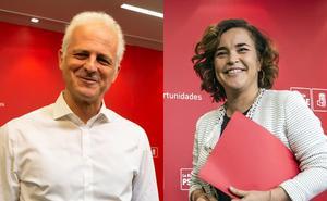 Los candidatos a liderar la lista del PSOE logroñés dan la cara