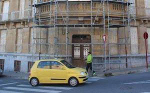 El edificio «María Díaz» de Haro terminará su rehabilitación en noviembre de 2019