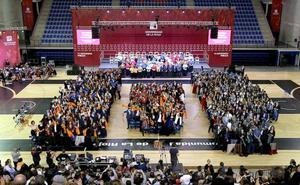 Multitudinario acto de graduación de la Universidad de La Rioja