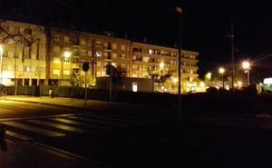 La Guindilla: Sin luz junto al Hospital San Pedro