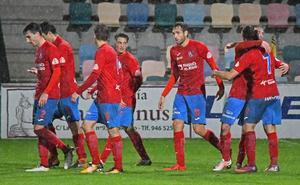 Los goles del Barakaldo-Calahorra: los rojillos aprovechan sus oportunidades