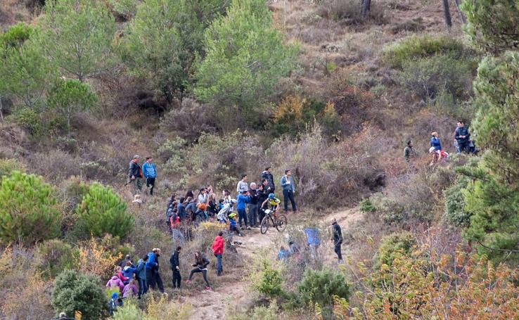 Final del Open Diario de Navarra de XC en Estella