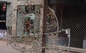 Luces navideñas por los suelos en Logroño