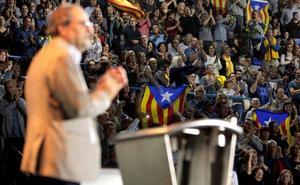 El independentismo civil censura a Torra por la falta de pasos hacia la república