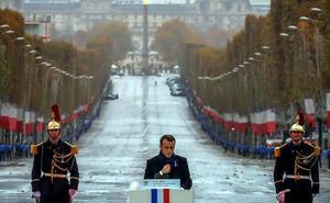 El mundo confraterniza en París en torno al ideal de la paz