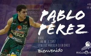 El base Pablo Pérez, nuevo fichaje del Clavijo