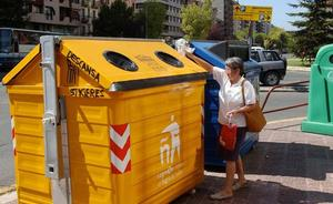 El reciclaje de envases crecerá un 10,2 % en La Rioja, el doble que en el 2017