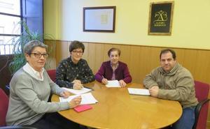 Alfaro aporta 9.000 euros a Cáritas