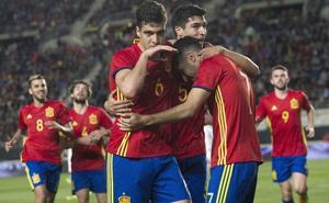 España Sub'21 llega hoy a Logroño