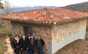 Nieva de Cameros cuenta con un nuevo depósito de agua potable