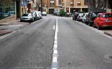 Nájera subsana la deficiente señalización horizontal de la calle San Fernando