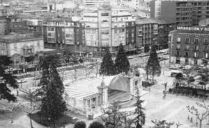 La Retina: Vista aérea del Espolón de Logroño