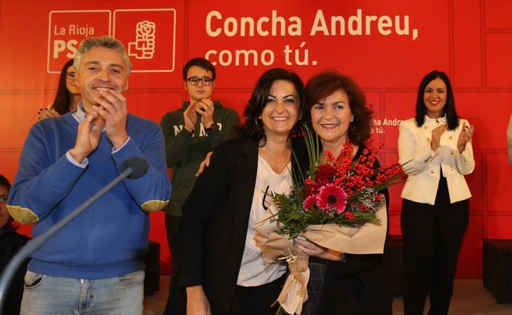 Concha Andreu afirma que quiere «gobernar para todos, sin complejos ni ataduras»