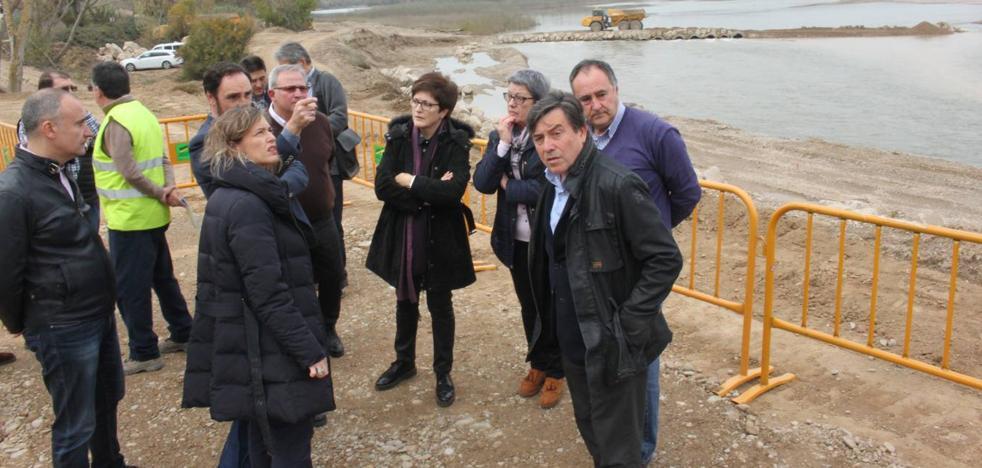 La CHE señala como vital la actuación en el tramo Alfaro para «relajar» el Ebro