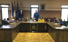 Visita de alumnos de Primaria al Consistorio