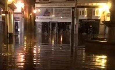 Muere una anciana atrapada en su casa durante una riada en Lugo