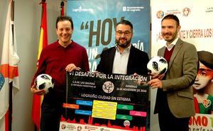 Fútbol sala por la integración en Logroño