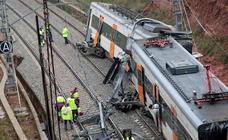 Accidente de tren en Barcelona